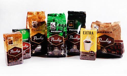 фото ассортимента кофе Паулиг