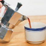 фото чая из гейзерной кофеварки