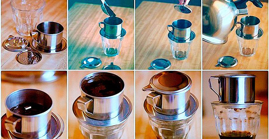 фото как правильно сделать настоящий вьетнамский кофе