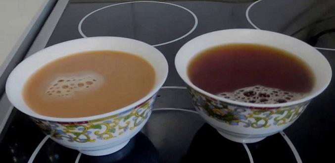 фото правильно заваренного к кофеварке чая