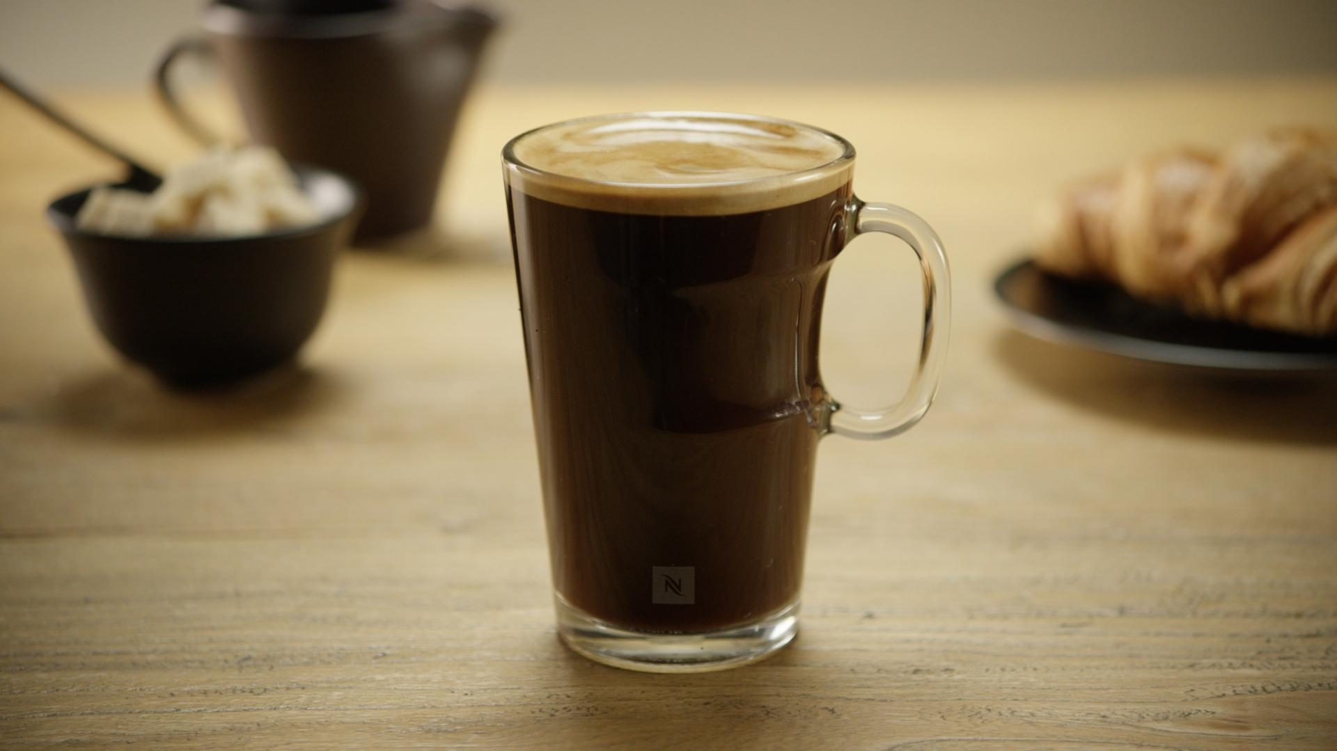 фото кофе амрикано в стакане