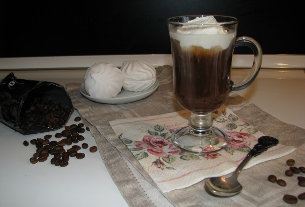 фото кофе глясе, сделанного в домашних условиях