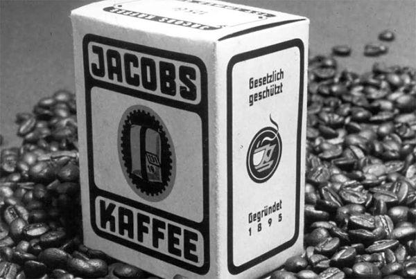фото первой упаковки кофе якобс
