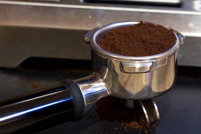 фото правильного помола кофе для эспрессо