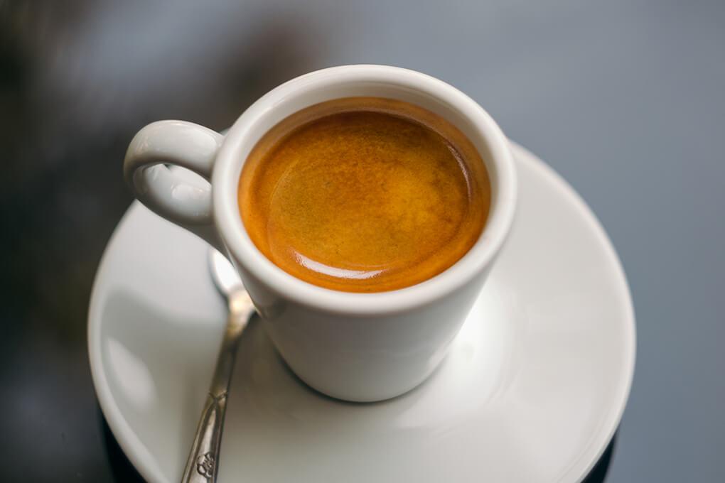 фото правильно сделанного эспрессо