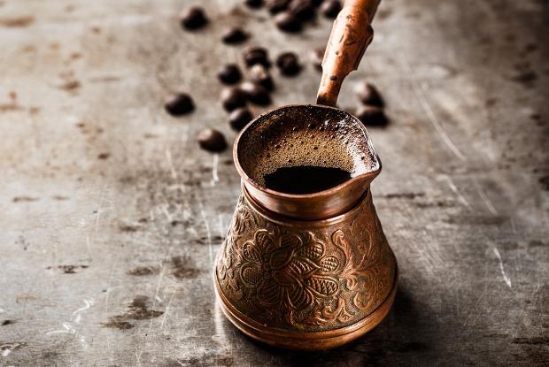 фото правильно заваренного кофе в турке
