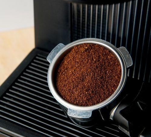 фото правильного помола кофе для американо