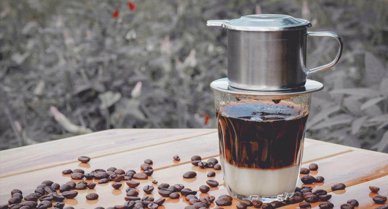 фото кофе по-вьетнамски со сгущенкой