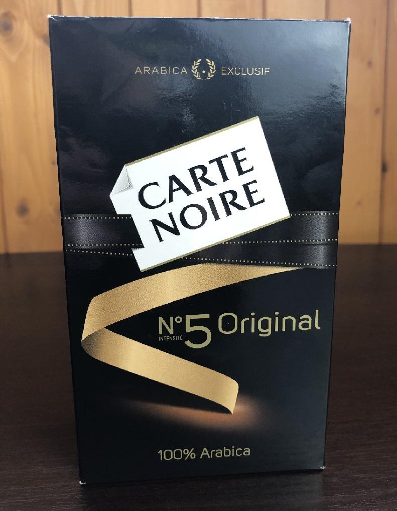 фото упаковки кофе Карт Нуар