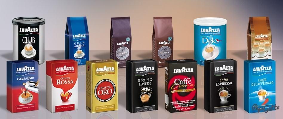фото видов кофе лавацца