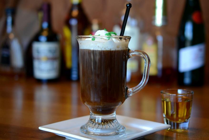 фото айриш кофе, сделанного в домашних условиях