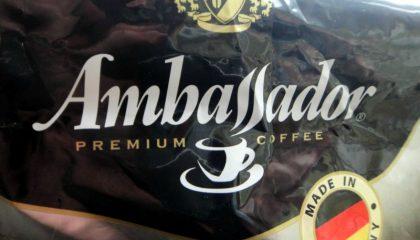фото этикетки кофе амбассадор
