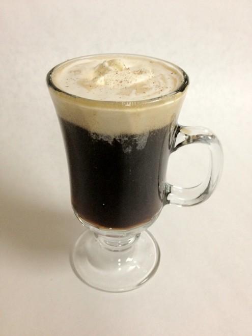 ледяной ирландский кофе