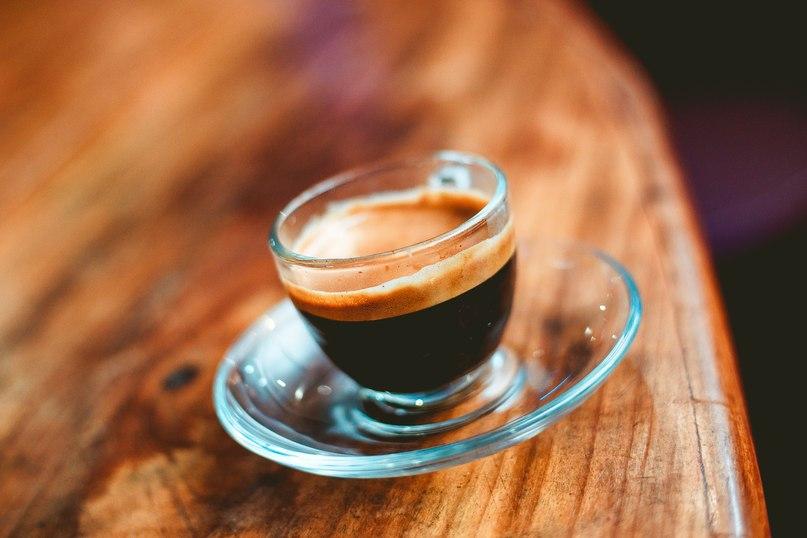 фото кофе ристретто, сделанного в домашних условиях