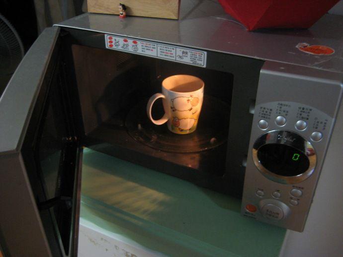фото кофе, заваренного в микроволновке