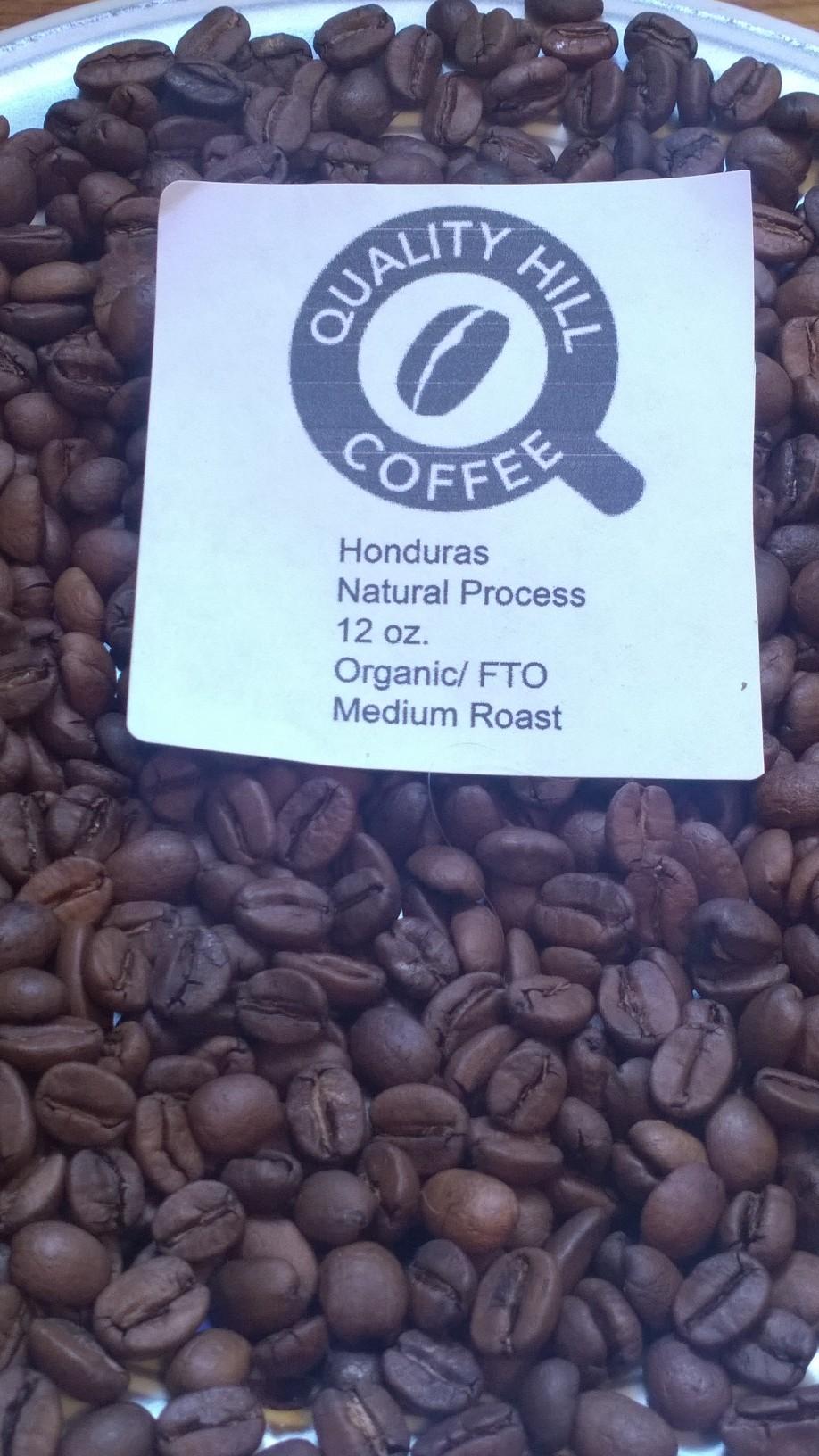 фото кофейных зерен из Гондураса