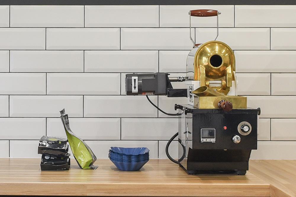 фото конвекционного ростера для кофе
