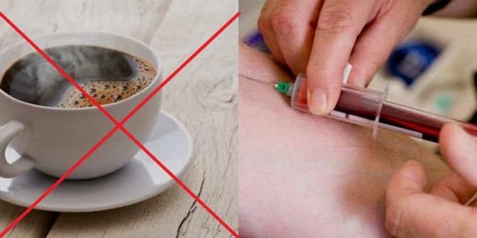 можно ли пить кофе перед сдачей крови