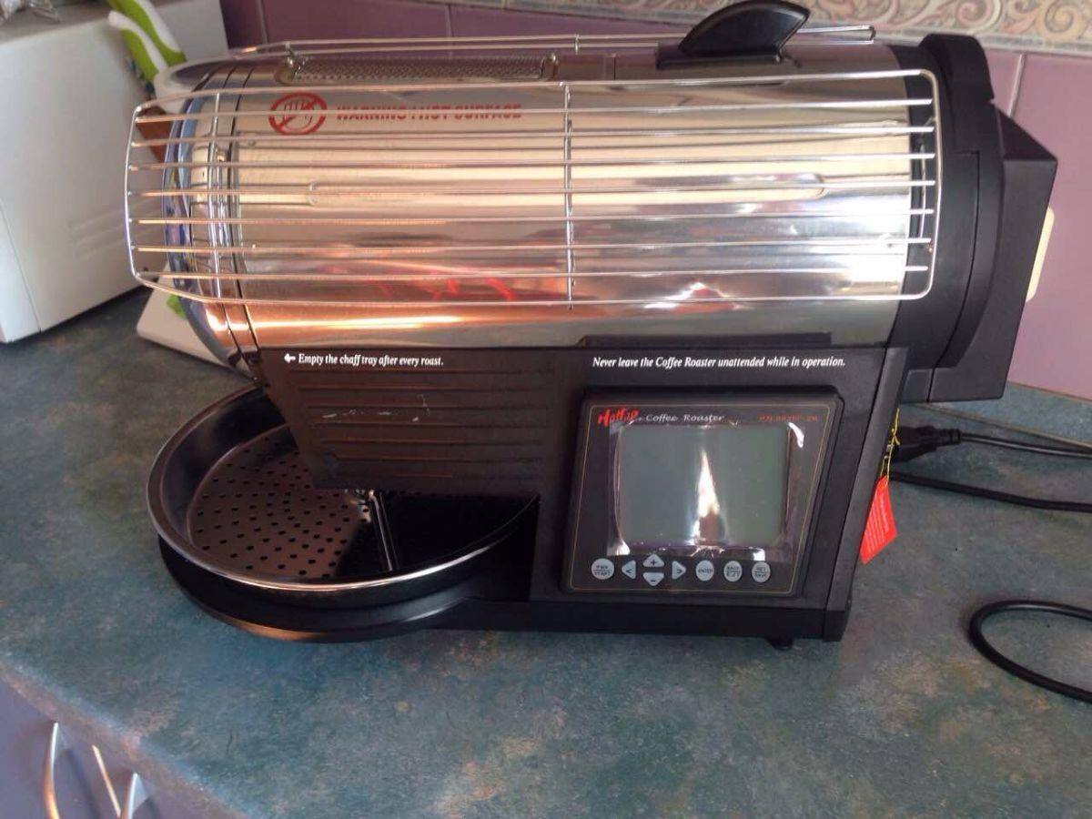 фото домашнего сэмпл ростера для обжарки кофе