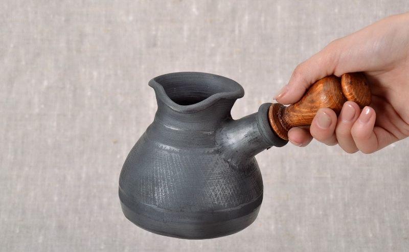 фото глиняной турки