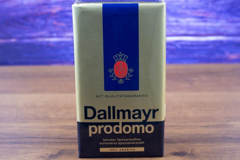 фото упаковки кофе Dallmayr