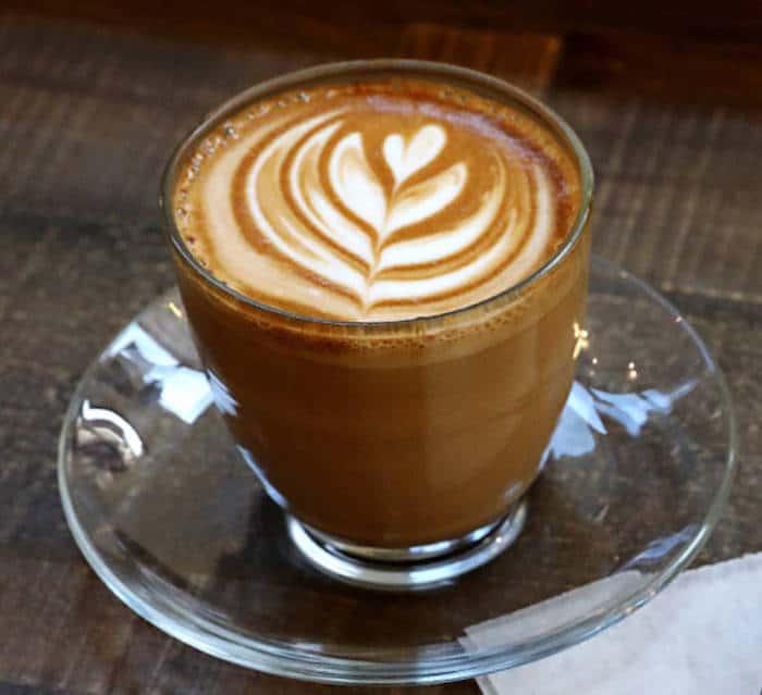 кофе flat white фото