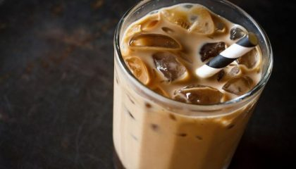 фото айс кофе со льдом