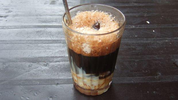 фото айс кофе по-вьетнамски с тапиокой