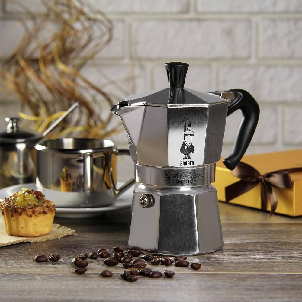 фото гейзеоной кофеварки Bialetti Mukka Express 2