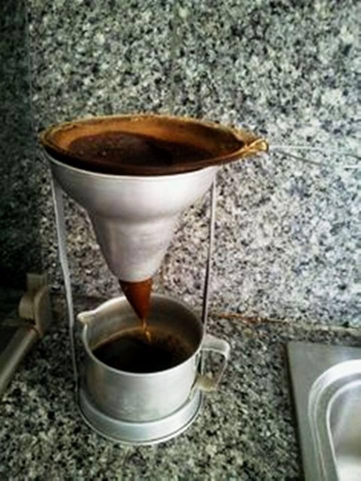 фото как готовят кофе в Венесуэле