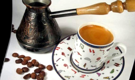 фото кофе по-сербски с пенкой