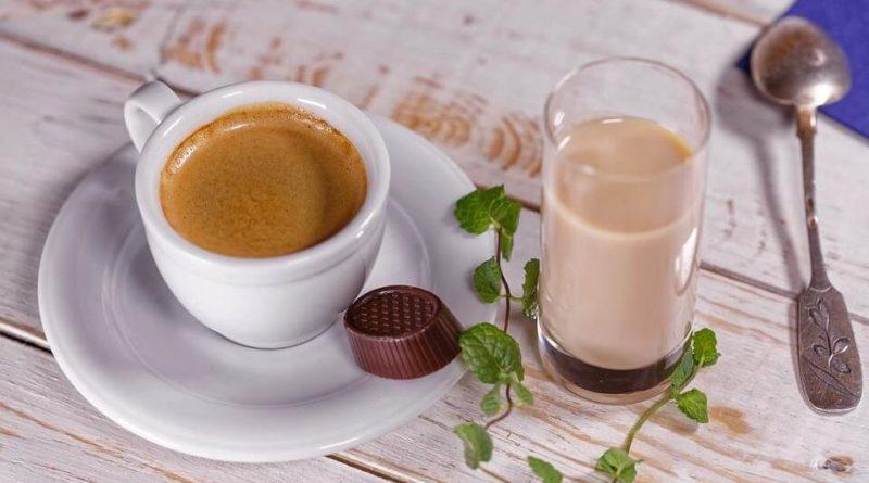 количество калорий в чашке кофе