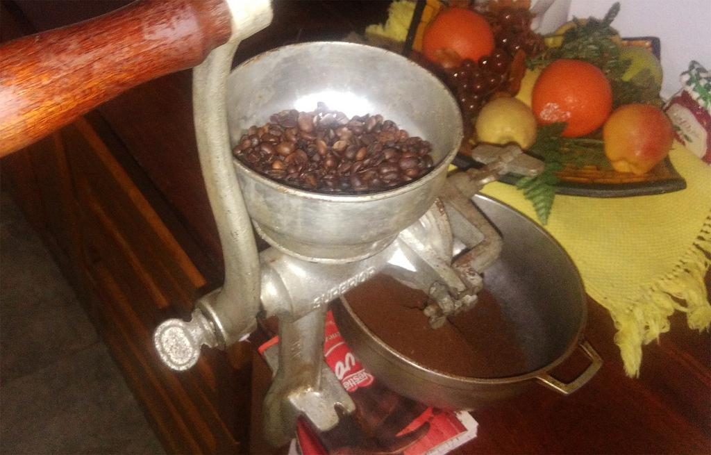 фото помола венесуэльского кофе
