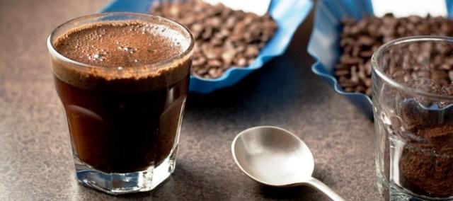 кофе в чашке по-бразильски