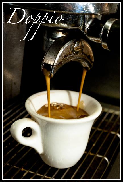 фото как правильно готовить кофе доппио