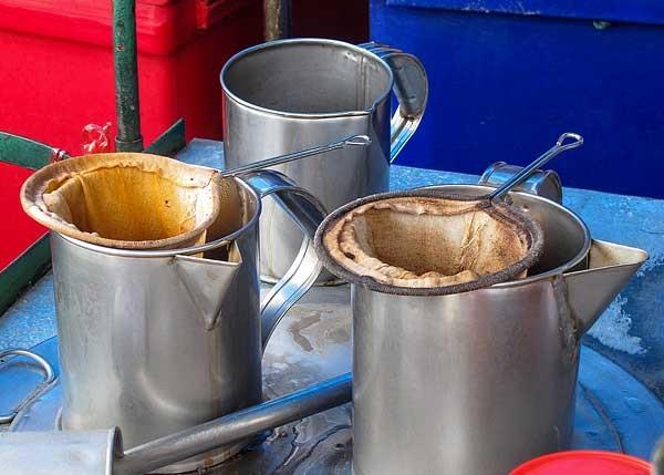 как пьют кофе в Таиланде