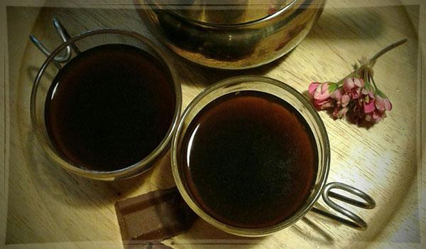 кофе в чашке по-польски