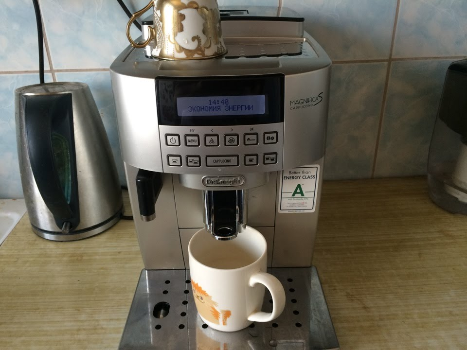 фото рожковой кофеварки Delonghi ECAM22.360