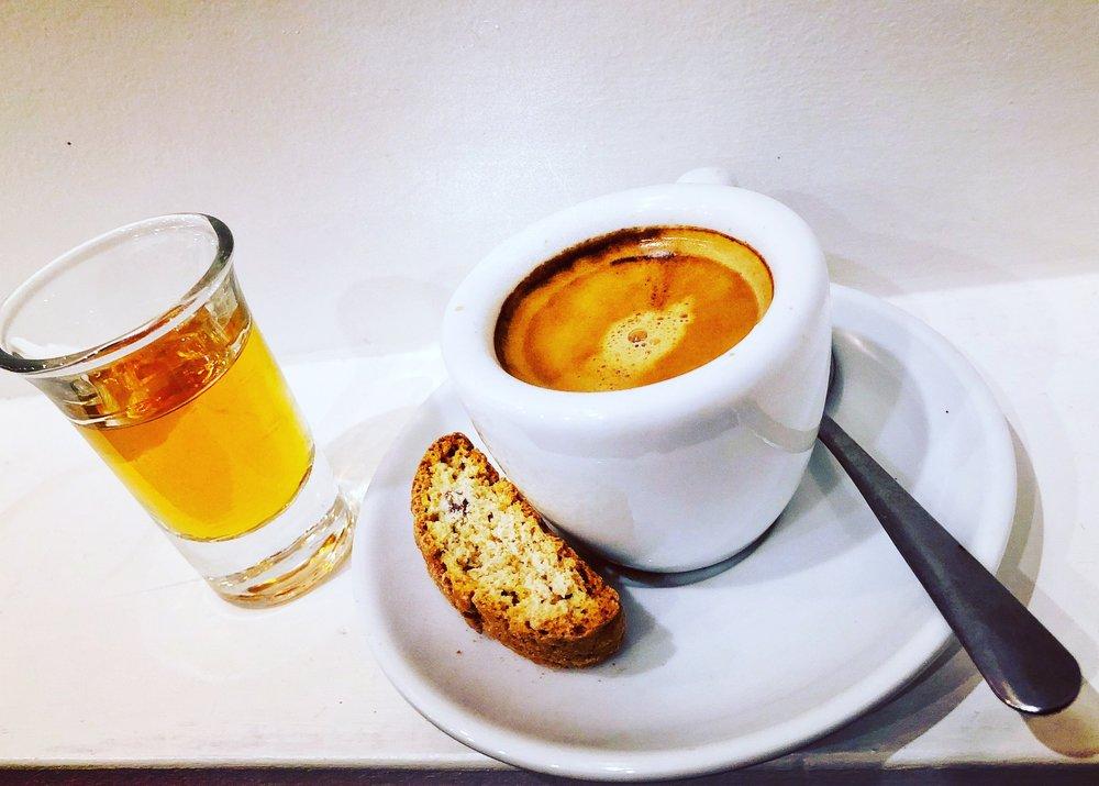 фото как правильно пить кофе коретто