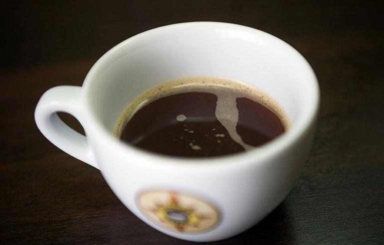 фото кофе трипло, сделанного в домашних условиях