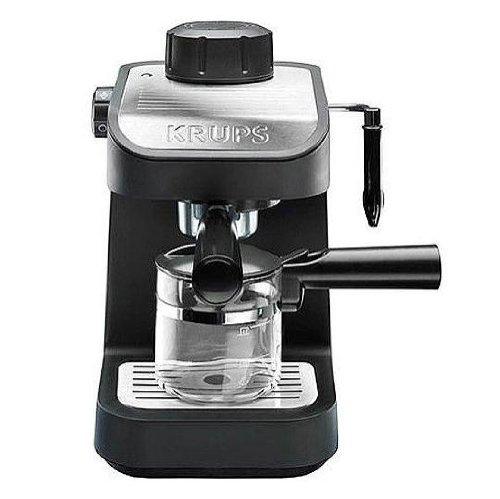 фото паровой кофеварки рожкового типа