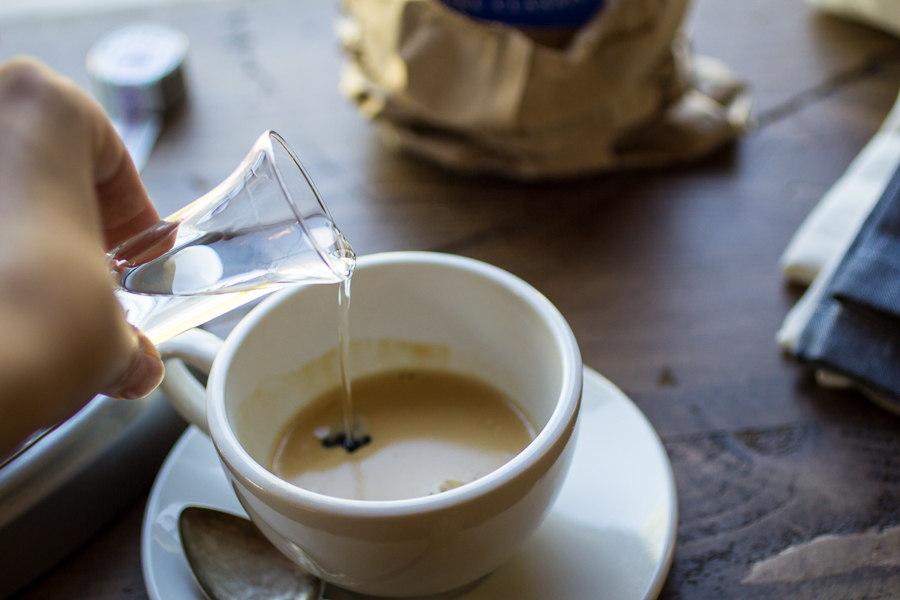 фото приготовления кофе коретто в домашних условиях