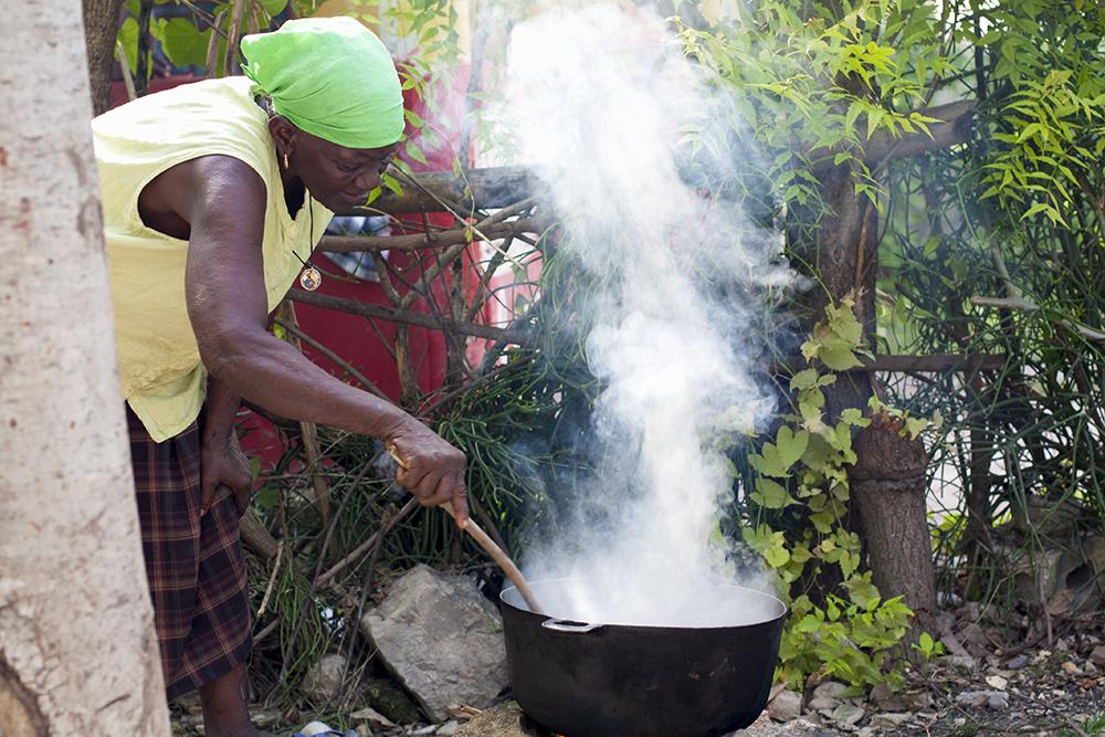 фото приготовления кофе по-гаитянски