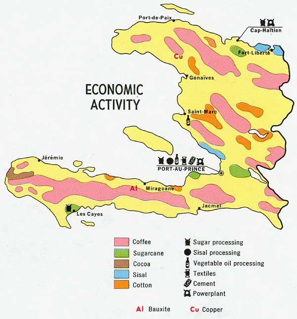 производство кофе на Гаити