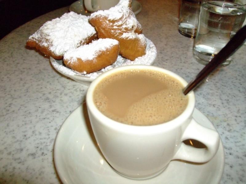 фото как правильно пить кофе кафе-о-ле
