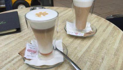 фото кофе меланж по-венски