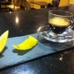 фото римского кофе с лимоном