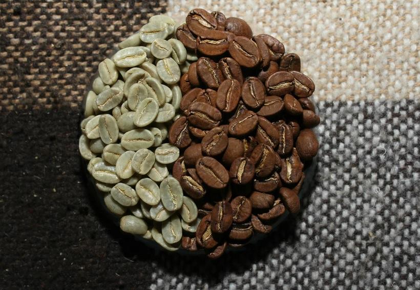 фото зерен кофе Блю Маунтин