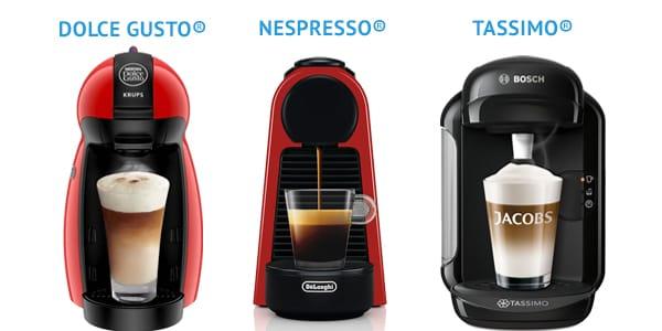 фото видов капсульных кофемашин