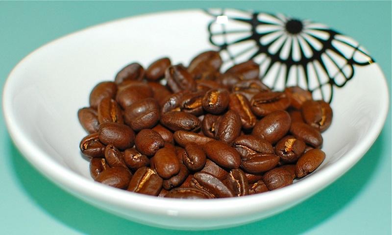 фото зерен кофе Гейша
